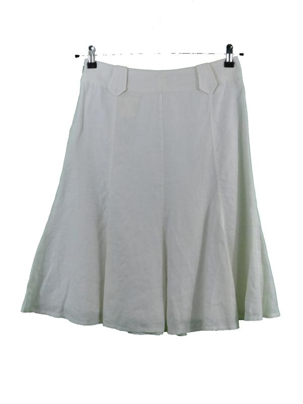 Transparentando en falda hilo